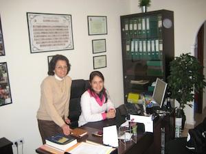 Martina Barboza y Cecilia Gimilio